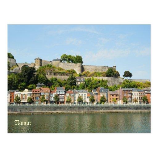 Namur, Bélgica del río la Mosa Postal