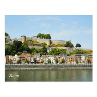 Namur, Belgium from the river Meuse Postcard