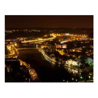 Namur by Night Postcard