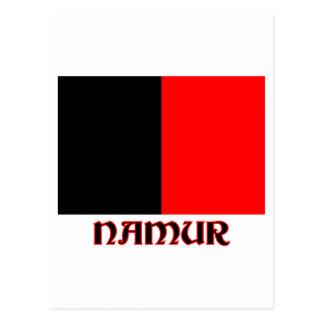 Namur Flag with Name Postcard
