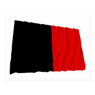 Namur Waving Flag Postcard