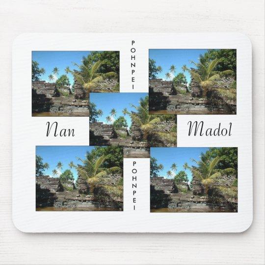Nan madol, Nan madol, Nan madol, Nan madol, Nan... Mouse Pad