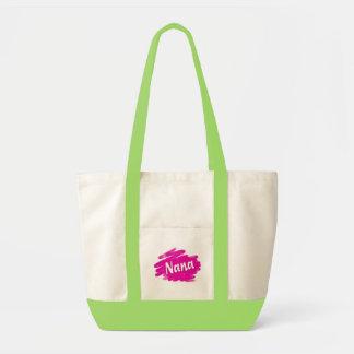 Nana ama rosa bolsa tela impulso