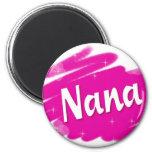 Nana ama rosa imán para frigorifico