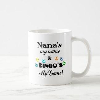 Nana and Bingo Classic White Coffee Mug