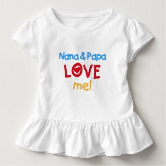 Nana and Papa Love Me Toddler T-shirt