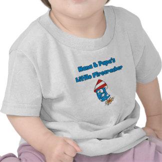 Nana and Papa s Little Firecracker Tshirts