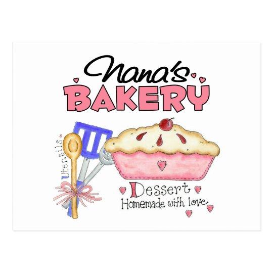 Nana Bakery Gift Postcard