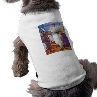 Nana by Edouard Manet Pet Tshirt
