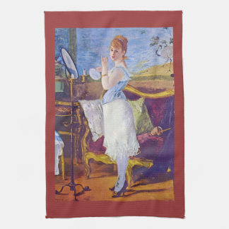 Nana by Edouard Manet Hand Towels