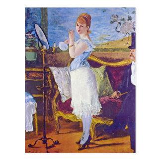 Nana by Edouard Manet Postcards