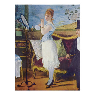 Nana by Edouard Manet Posters