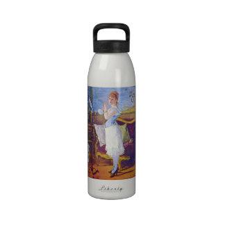 Nana by Edouard Manet Reusable Water Bottles