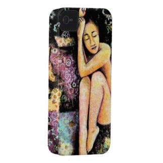 Nana caso de la bella arte para el iphone 4 Case-Mate iPhone 4 carcasas