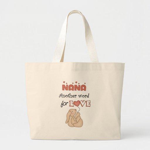 Nana Children's Gift Canvas Bags