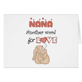 Nana Children's Gift Greeting Card