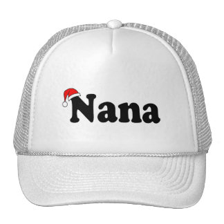 Nana Christmas Santa Hat
