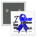 Nana - cinta del cáncer de colon pin