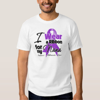Nana - cinta del cáncer pancreático camisas