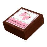 Nana de la mariquita/caja del recuerdo de la marip caja de recuerdo