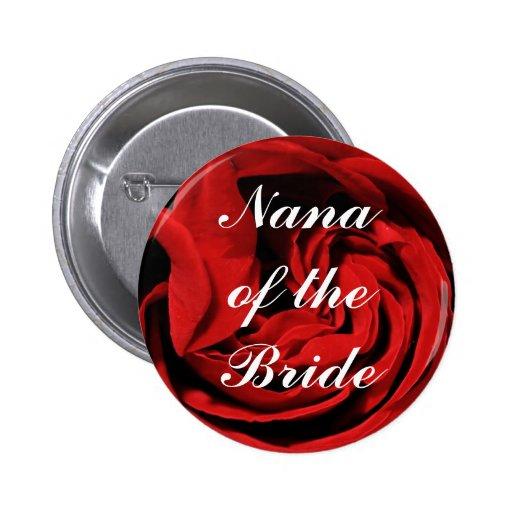 Nana de la novia pin