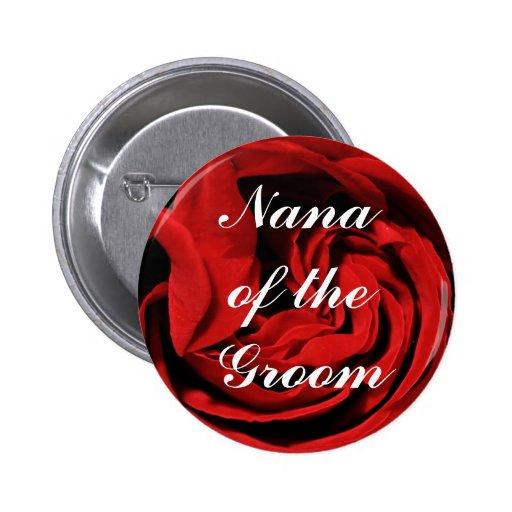 Nana del novio pin