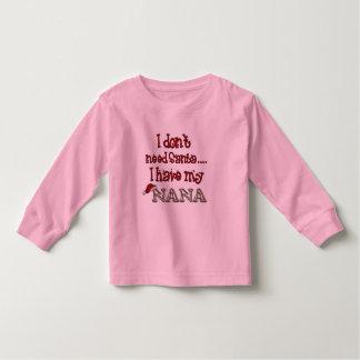 Nana es Santa Tee Shirts