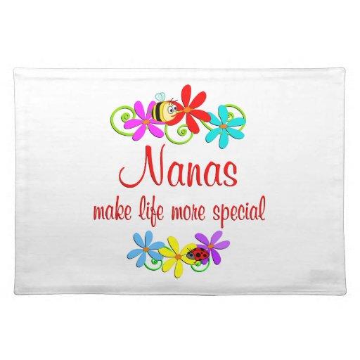 Nana especial mantel individual