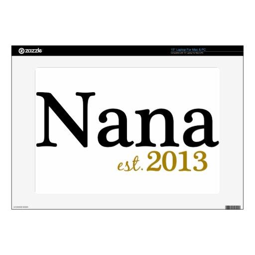 Nana Est 2013 Portátil Skin