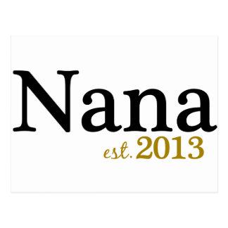 Nana Est 2013 Postcard
