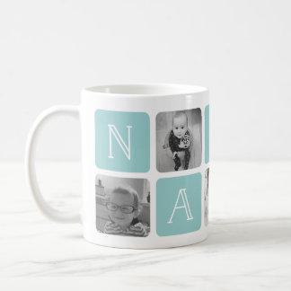 NANA Grandmother Photo Collage Coffee Mug
