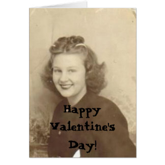 nana, Happy Valentine's Day! Card