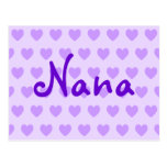 Nana in Purple Post Card