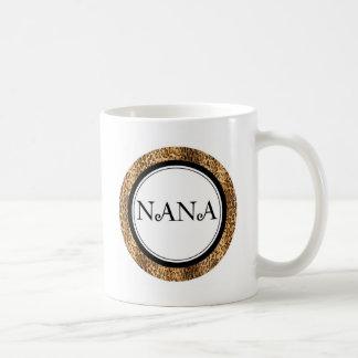Nana... Leopard Style Classic White Coffee Mug