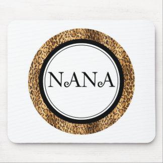 Nana... Leopard Style Mouse Pad