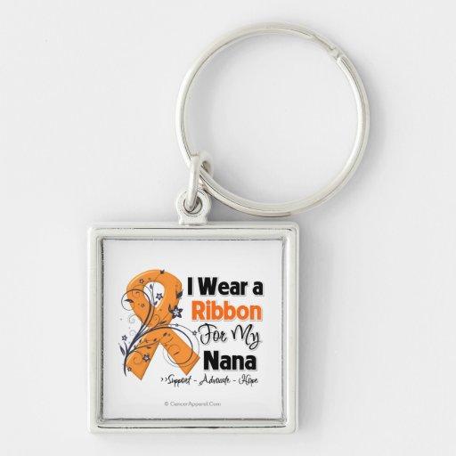 Nana - Leukemia Ribbon Keychain