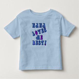 Nana Loves Me Best Toddler T-shirt