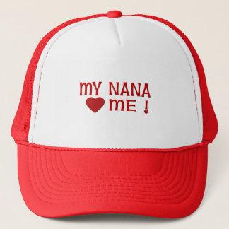 Nana Loves Me Trucker Hat