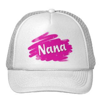 Nana Loves Pink Trucker Hat