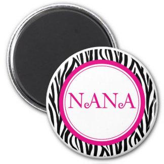 Nana Magnet - Zebra Style