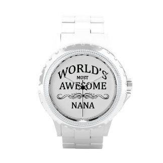 Nana más impresionante del mundo relojes