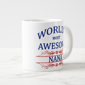 Nana más impresionante del mundo tazas extra grande