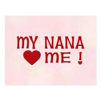 Nana me ama postal