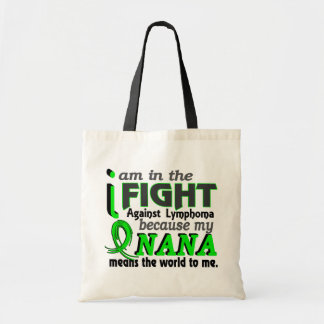 Nana Means The World To Me Lymphoma Tote Bag