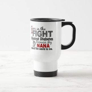 Nana Means World To Me Diabetes Mug