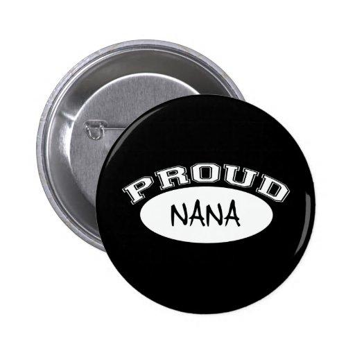 Nana orgullosa (blanca) pin