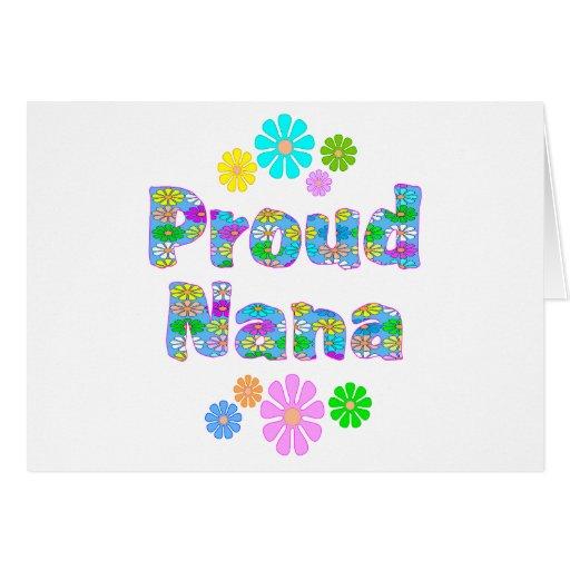 Nana orgullosa felicitaciones