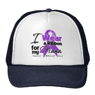 Nana - Pancreatic Cancer Ribbon Mesh Hats