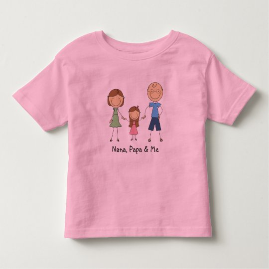 Nana Papa and Me t-shirt