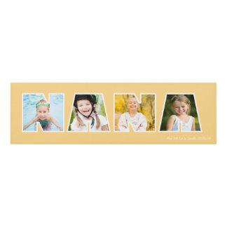 NANA Photo Frame Gift- Cream Panel Wall Art
